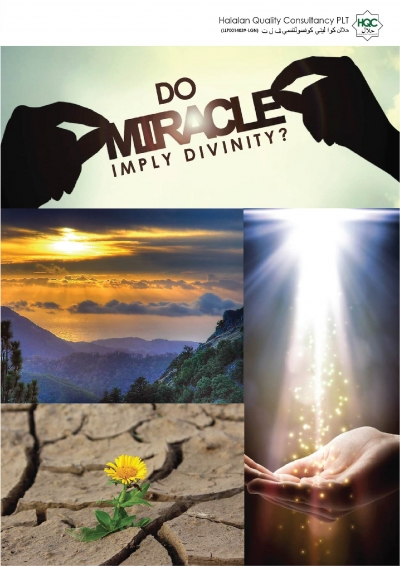 DO MIRACLE IMPLY DIVINITY